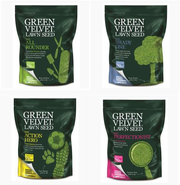 Green Velvet range